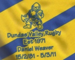 Dundas Valley Vikings RFC Est 1971
