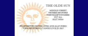 The Olde Sun, Nether Heyford
