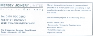 Mersey Joinery Limited