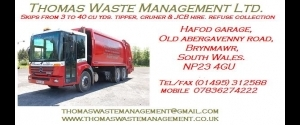 THOMAS WASTE MANAGEMENT