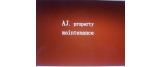 AJ property maintenance