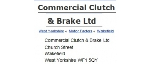 Commercial Clutch & Brake
