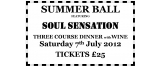 SUMMER BALL 7th July