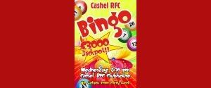 Bingo Every Wednesday @ 8:30