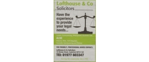 LOFTHOUSE & Co SOLICITORS