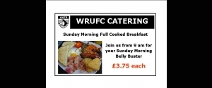 WRUFC Catering