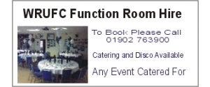 WRUFC Function Room Hire