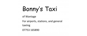 Bonny's Taxi of Wantage
