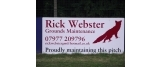 Rick Webster Grounds Maintenance
