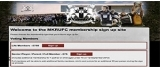 MKRUFC Club Membership Site 
