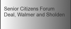 Senior Citizens Forum - Deal Walmer & Sholden