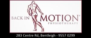 Back in Motion - Bentleigh