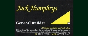 Jack Humphrys - General Builder
