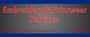 Embroidery and Printwear Services