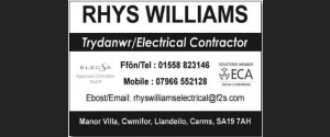 Rhys Williams Electrical