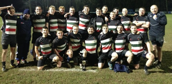 Tom Coates Cup Winning 1st XV - March 2013