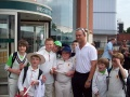 U11 at England v Bangladesh, Old Trafford June 2010 still