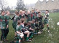 Under 12's Celebrate Wining Division Four  still