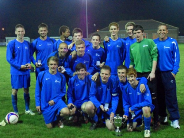Victorius Wilts FA Youth Cup Final Winners 2010/11