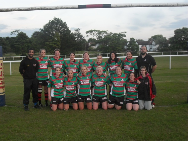 Leeds Akkies Ladies 2011 Back Row (Left to Right) Keith Sandhu (Coach) Beckie Leach, Jenny Hopkins, Sarah Dunn, Jen Pollington, Miranda Dunstan, Hym Hammond, Michelle Powell, Carl Brown (Manager)