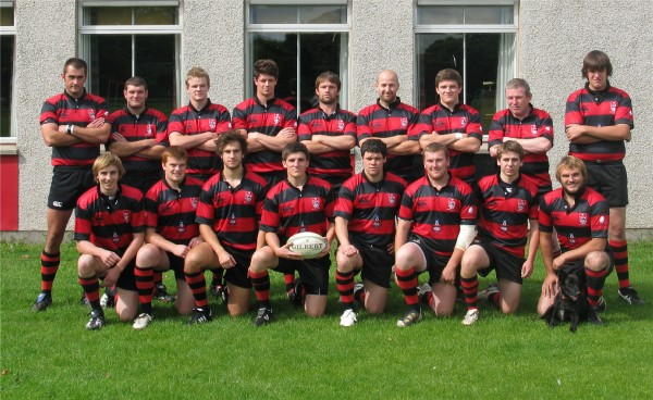 Back Row : R.Freer; A.Gallacher; G.Fairgrieve ; C.Lauder; P.Littlefair; R.Ritchie; I.Dove; C.Cockburn; J.Boswell.