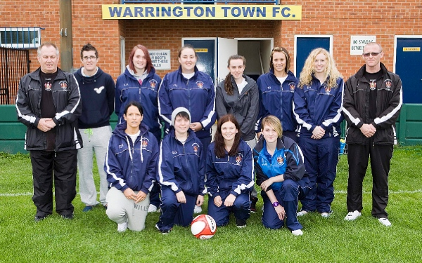Warrington Town Ladies - 2011/2012 Season - North West Woman's Regional League, Division One North