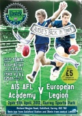 AFL Europe Easter Series 2013