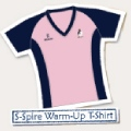 Ladies S-Spire Warm-Up T-Shirt