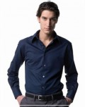 Russell Long Sleeved Tencel Fitted Shirt