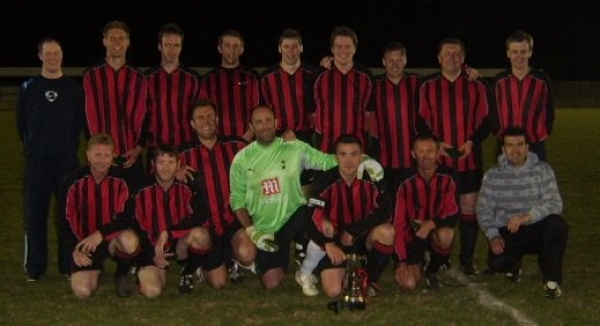 Back Row (L to R): Michael Sollis, Dan King, Stu Read, Rob Hook, Mark Sollis, Dan Frizzell, Pat Crowley, Mark Jewell and Gezz Morgan.