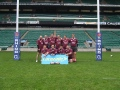 Lucozade Sport Sevens Performance Day at Twickenham on Friday 8th June 2012. still