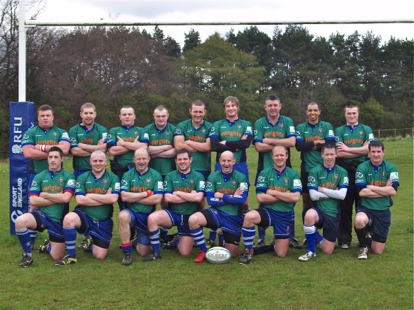 Top row from Left to right - Tom Bourne, Andy Thompson, Scott Ainsworth, Jamie Gordon, Ed Harrison, James Hall, Jason Reaney, Miles Barrat , Jamie Gillman. 