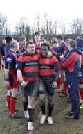 Stags 1st XV vs Kinloss Eagles 30th March 2013 still