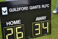 Giants vs Medway 2012 still