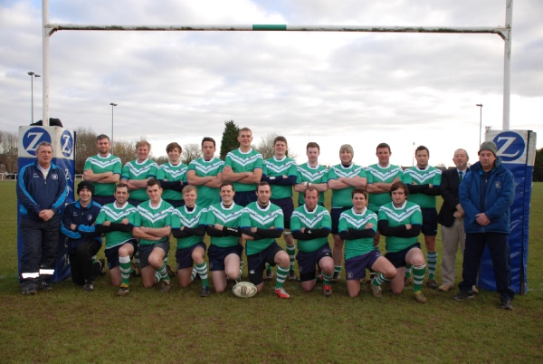 Back row: Adrian Flynn Josh Burton Luke Foster Tobias Gooney Matthew Gibbs Andrew Tarpley Ryan Clark David Beveridge Dylan Roberts Sam Thomas Stuart Gilbert Front row: Ian Hobbs Kevin (Physio) Johnny Nixon Will Howells Jonathon Palmer Simon Oakey Ben Gilbert Scott Bailey Richard Ryan Dan McNally Dave Clark