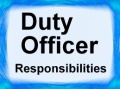 Senior - Duty Officer Responsibilities Duty Officer / Team - Senior - Duty Officer Responsibilities