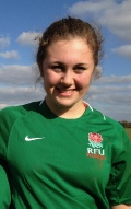 Hollie makes the South West Division U15's squad. still