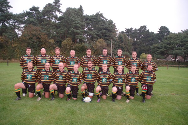 Mellish 1st Team XV with new kit supplied by new sponsor