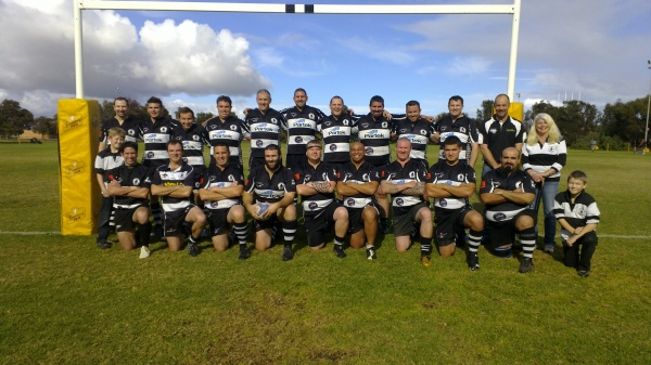 Back Row: Mat Tutting, Sam Chapman, JP Nel, Travis O'Neil, James Lodge, Mark Howells, Bryan Evans, Tim Roberts, James Rose, Dean Ridley, Marcus Lodge (President), Fiona Chapman (Vice President)