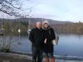 MR & MRS ANDY LAWTON TO SWIM LAKE WINDERMERE FOR QUEENSCOURT HOSPICE