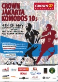 Invitation Crown Jakarta Komodos 10s 2013 - Invitation