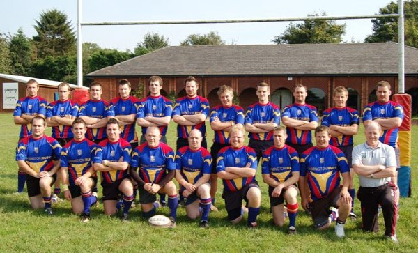 Back row (L-R): Tristan; P.Davies; A.Reay; T.Williams; R.Oliver; R.Blunt; L.Kelsey; M.Baldwin; J.Cooper; E.Pointer; A.Speight.  Front row (L-R): K.Harris; L.Cleary; B.Pithouse; G.Eastham (capt.); M.Davies; C.Timms; D.Jones; T.Benyon; D.Barry (physio).