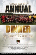 Annual Dinner - 20th April 2013