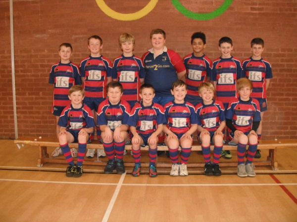 The Under 11's train at Standish High School: