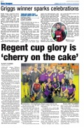 Cup Final Highlights/Evening Gazette