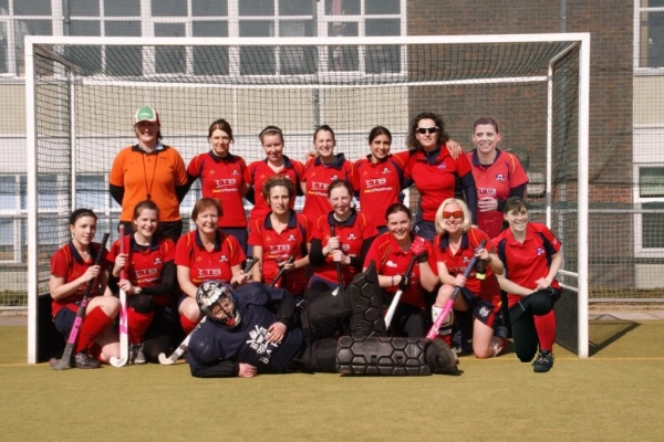 Ladies 3XI 2012-2013