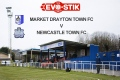 Market Drayton v Newcastle  still