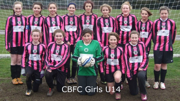 Chobham Burymead FC Girls U14 March 10th 2013 v Woking Cougars