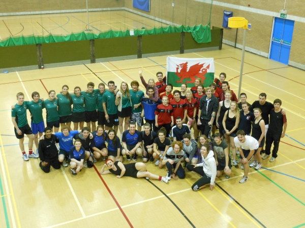 All five Cardiff University teams at the Cardiff Freshers Tournament.