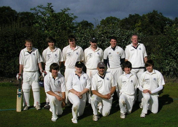 Back Row: James Heathcote, Charlie Wood, David Paterson, Andy Pearce, Alex Sykes, Colin Rowe.